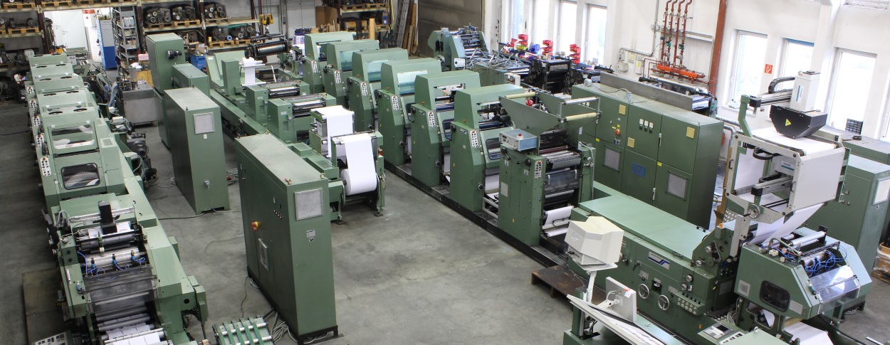 Used Printing machine from A to B with Prochaska